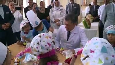 Milli Eğitim Bakanı Ziya Selçuk Bolu'da