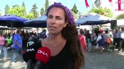 sarkici -  Silivri'de kavun ve bamya lezzetleri yarıştı