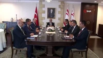 siyasi parti -  - KKTC Cumhurbaşkanı Akıncı, parti başkanlarıyla bir araya geldi