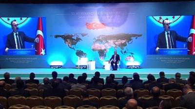 Adalet Bakanı Gül, 11. Büyükelçiler Konferansı'nda konuştu