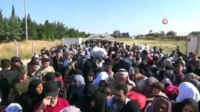 Bayrama için ülkelerine giden Suriyelilerin sayısı 33 bin oldu