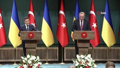 """ticaret anlasmasi -  Cumhurbaşkanı Erdoğan: """"Amerikalılar ile harekat merkezi kurulması kararı verildi"""""""