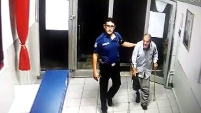 yasli adam - Yaşlı adama polis şefkati - KONYA