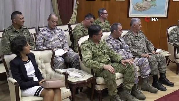 dayatma -  - Milli Savunma Bakanı Akar, KKTC Başbakanı Tatar ile görüştü