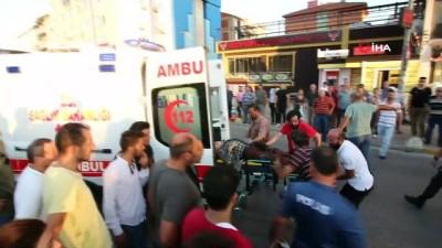 kirmizi isik -  Yolun karşısına geçmeye çalışırken kamyon altına kalan adamın ayağı koptu