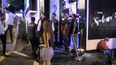 300 polis barlar sokağına daldı ünlü mekanları didik didik aradı