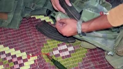 Azez'i kana bulamaya çalışan 5 terörist yakalandı