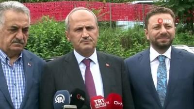 """Bakan Turhan: """"Salarha Tüneli gelecek yılın sonunda hizmete girecek"""""""