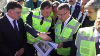 """hizli tren hatti -  Cumhurbaşkanı Yardımcısı Oktay:""""Yatırımlar Türkiye'nin her tarafında hızla devam ediyor"""""""
