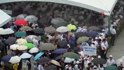 - Nagasaki'deki facianın 74. yılı - Atom bombası kurbanları Japonya'da anıldı