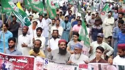 - Pakistan'ın Muhafazakar Partisi'nden Hindistan karşıtı protesto