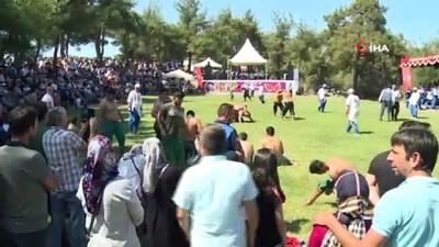 yagli gures -  Osmangazi'de siyah incirler yarıştı