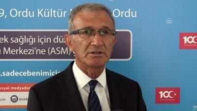 'Sağlık programları çok dikkatli ve seçici olmalı' - ORDU