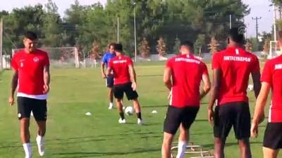 Antalyaspor'da Kayserispor maçı hazırlıkları - ANTALYA