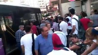 halk otobusu - Avcılar'da trafik kazası: 4 yaralı - İSTANBUL