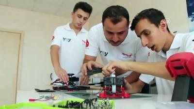 universite ogrencisi - 'AYATA v2' ile TEKNOFEST finalinde yarışacaklar - ELAZIĞ