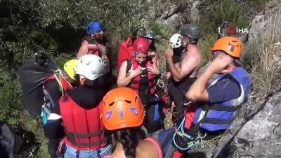 """kanyon -  Dağcıların yeni gözdesi """"Kalinse Kanyonu"""""""