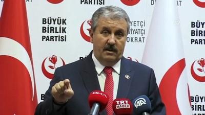 Destici: 'Teröre destek veren siyasi parti kapatılır' - ANKARA