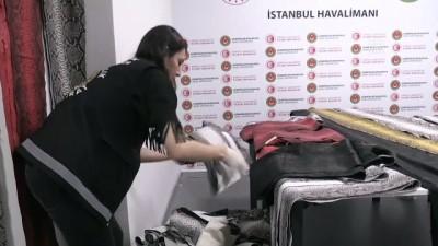 istihbarat - İstanbul Havalimanı'nda yılan derisi operasyonu - İSTANBUL