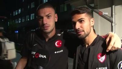 milli futbolcu -  Merih Demiral ve Zeki Çelik: 'Türkiye'yi Avrupa'da temsil etmekten gurur duyuyoruz'