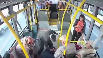 halk otobusu - Otobüste rahatsızlanan yolcuyu şoför hastaneye götürdü - SİVAS