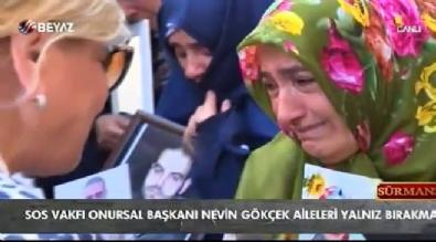 SOS Vakfı Diyarbakır annelerini yalnız bırakmadı