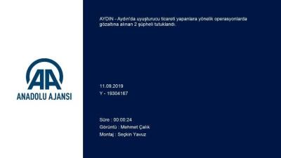 Uyuşturucu operasyonları - AYDIN