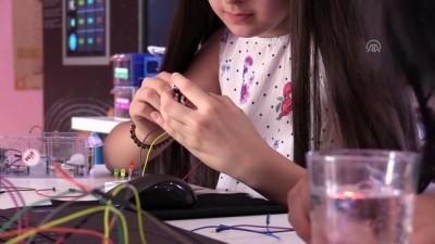 Cizreli öğrencilerden boğulmaya karşı robotik sensör - ŞIRNAK