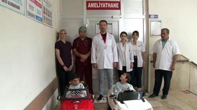 Çocuklar ameliyata akülü arabayla giriyor - ŞANLIURFA