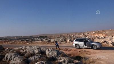 Esed rejimi İdlib'i havadan vurdu, 1 çocuk öldü - İDLİB