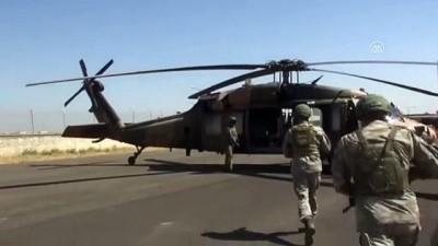 Fırat'ın doğusunda dördüncü ortak helikopter uçuşu (5) - ŞANLIURFA