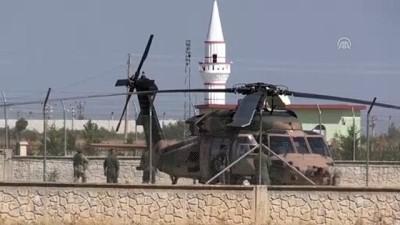 Fırat'ın doğusunda dördüncü ortak helikopter uçuşu - ŞANLIURFA
