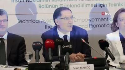Kamu Başdenetçisi Şeref Malkoç basınla buluştu