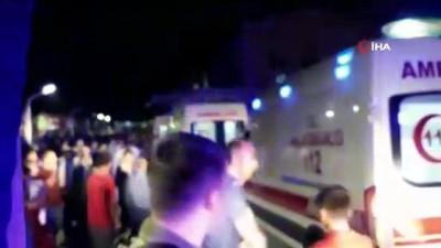 telefon gorusmesi -  Kulp'taki patlamada şehit olanların cenazesi hastanelere taşınıyor