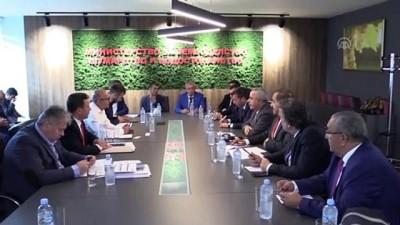 bakanlik - Kuzey Makedonyalı bakanlar Türk heyetini kabul etti - ÜSKÜP