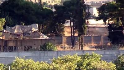 YPG sınır hattında varlık göstermeye devam ediyor (2) - ŞANLIURFA