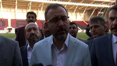 """bakanlik - Bakan Kasapoğlu: """"Devasa tesislerimiz var"""""""