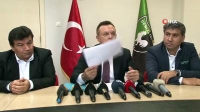 kabil - Başkan Çetin Denizlispor'un mali durumunu açıkladı