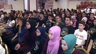sosyal sorumluluk -  Konya'da Stres Yönetimi, Odaklanma ve Başarı Hikayeleri konulu konferans