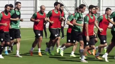 Konyaspor, Denizlispor maçı hazırlıklarını sürdürüyor