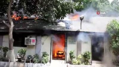 bakanlik -  - Pakistan'da bakanlık ofisinde yangın