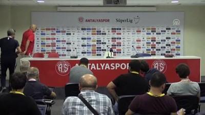 Antalyaspor-İstikbal Mobilya Kayserispor maçının ardından - Hikmet Karaman - ANTALYA
