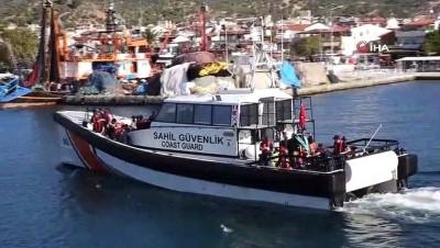 Ayvacık'ta 90 düzensiz göçmen yakalandı