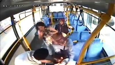 halk otobusu - Hamile yolcu halk otobüsüyle hastaneye yetiştirildi - KOCAELİ
