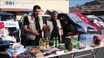 İHH ve Fetih-Der'den İdlib'e yardım konvoyu - HATAY