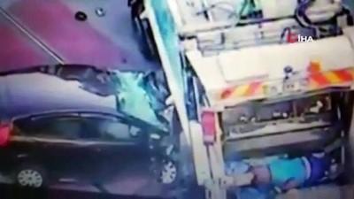 İzmir'de 2 kişinin öldüğü feci kaza kamerada