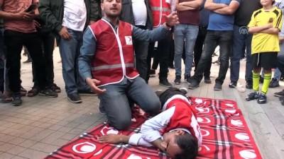 Türk Kızılay gönüllülerinden vatandaşlara eğitim - AĞRI