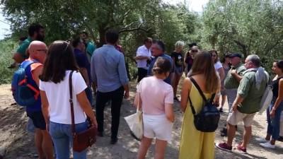genclik merkezi - Yabancı öğrenciler, Antandros Antik Kenti'ni gezdi - BALIKESİR