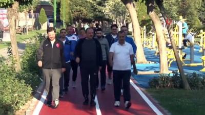 basketbol -  Zeytinburnu'nda 'Sağlıklı Hayat için Yürüyüş Programı'