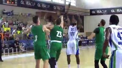 Basketbol: Gloria Kupası - TOFAŞ: 95 - Zalgiris: 100 - ANTALYA